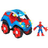 PLAYSKOOL Spiderman Flip Out Stunt Buggy [PYT67131] - Movie and Superheroes